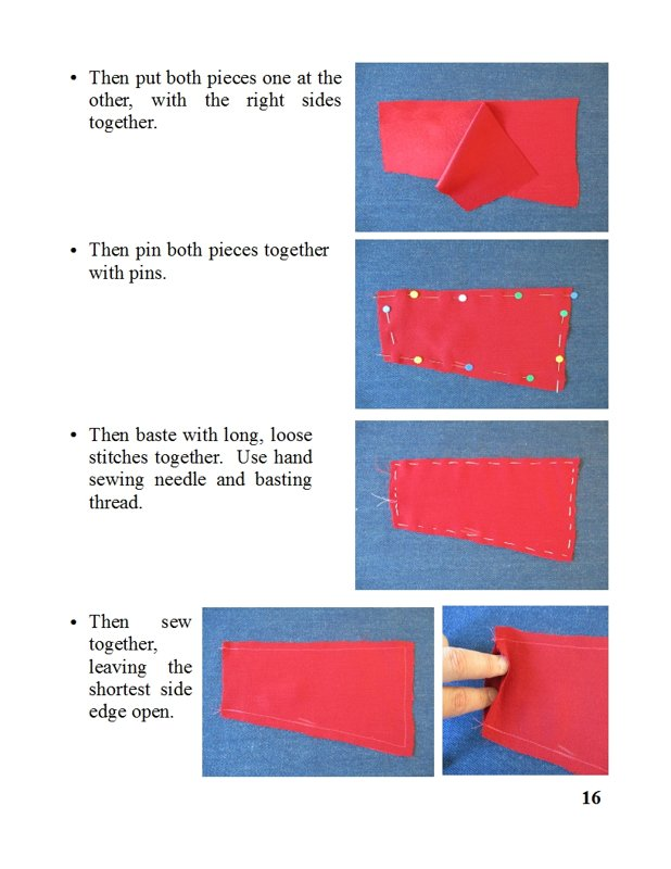 satin evening bag with removable shoulder and wrist straps, pdf sewing pattern and photo tutorial, 2 sizes