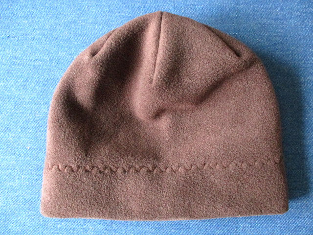 unlined slouchy winter fleece beanie / single layer warm chemo hat, pdf sewing pattern and photo tutorial, adult to toddler, (6 sizes)