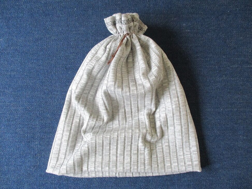 double layer slouchy jersey chemo beanie with gathered top in gray, pdf sewing pattern + photo tutorial, adult to baby, (10 sizes)